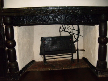 The Fireplace in the Hall