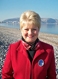 JUDY BROUGH Wales Blue Badge Guide