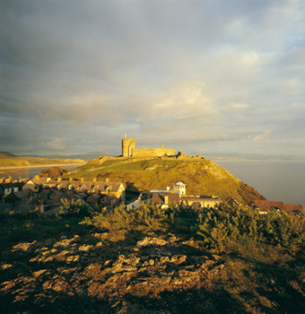 Criccieth castle sunset.jpg