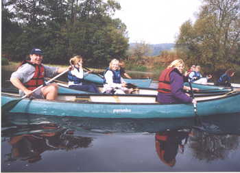 canoeing north wales