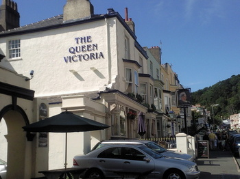 Queen Vic Pub Side